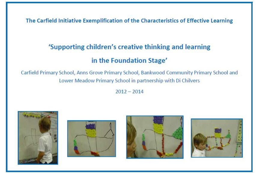 Supporting children's creative thinking and learning in the Foundation Stage